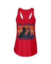 Frenchie high five Ladies Flowy Tank thumbnail