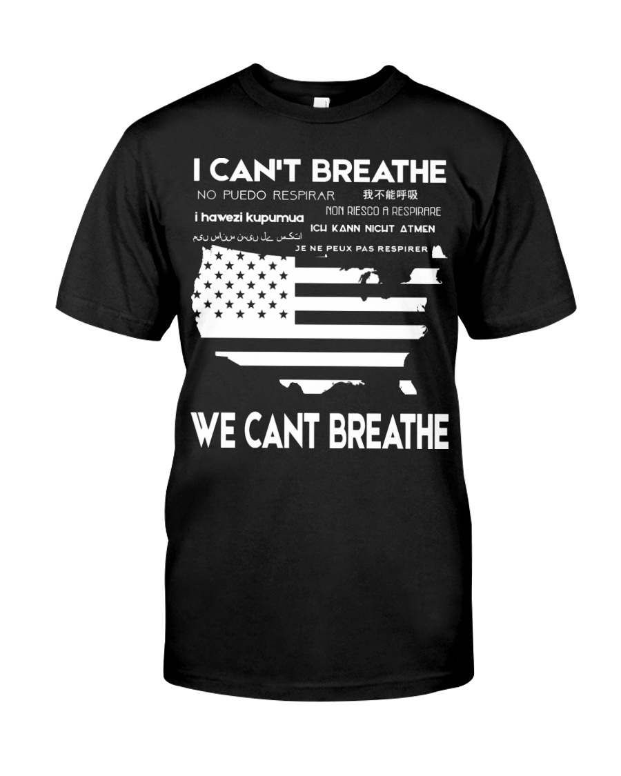 bocI Can't Breathe We Cant Breathe Classic T-Shirt