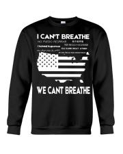 bocI Can't Breathe We Cant Breathe Crewneck Sweatshirt thumbnail