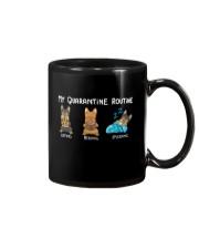 My Quarantine Routine Yorkie3 Mug thumbnail