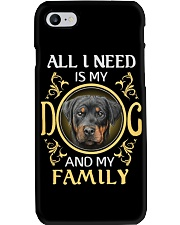 All L Need Is My And My Family rottweiler Phone Case thumbnail