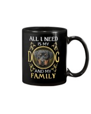 All L Need Is My And My Family rottweiler Mug thumbnail