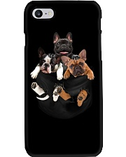 Frenchie pocket T-shirt gift for friend Phone Case thumbnail