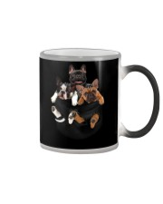 Frenchie pocket T-shirt gift for friend Color Changing Mug thumbnail