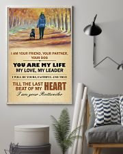 I Am Your Friend - Your Partner-Your Dog 11x17 Poster lifestyle-poster-1