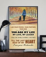 I Am Your Friend - Your Partner-Your Dog 11x17 Poster lifestyle-poster-2