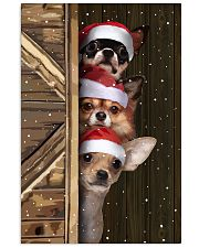 Chihuahua Merry Christmas Poster Cute Wall Paintings House Decor  11x17 Poster front