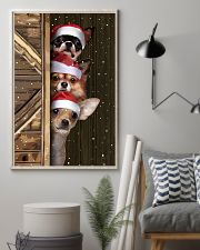 Chihuahua Merry Christmas Poster Cute Wall Paintings House Decor  11x17 Poster lifestyle-poster-1