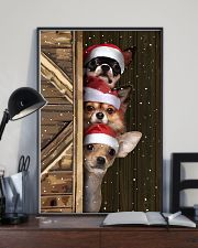 Chihuahua Merry Christmas Poster Cute Wall Paintings House Decor  11x17 Poster lifestyle-poster-2