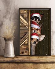 Chihuahua Merry Christmas Poster Cute Wall Paintings House Decor  11x17 Poster lifestyle-poster-3