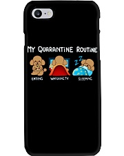 My Quarantine Routine poodle4 Phone Case thumbnail