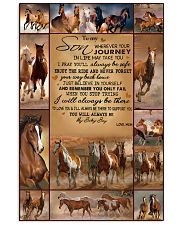 horse text tranh edition 11x17 Poster front