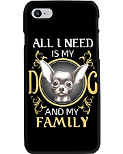 All I Need Is My And My Family frenchie Phone Case thumbnail
