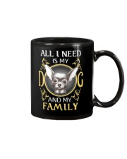 All I Need Is My And My Family frenchie Mug thumbnail