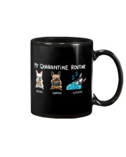 My Quarantine Routine frenchie  Mug thumbnail