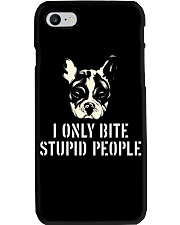 I Only Bite Stupid People French Bulldog Phone Case thumbnail
