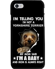 I'm telling you i'm not a yorkshire terrier Phone Case thumbnail