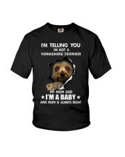I'm telling you i'm not a yorkshire terrier Youth T-Shirt thumbnail