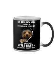I'm telling you i'm not a yorkshire terrier Color Changing Mug thumbnail