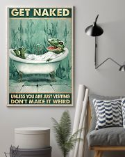 T-Rex Get Naked Unless You Are Just Visiting 11x17 Poster lifestyle-poster-1