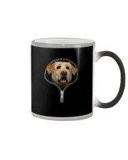 labrador retriever Color Changing Mug tile