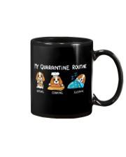 My Quarantine Routine cocker spaniel3 Mug thumbnail