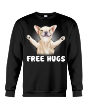 frenchie freehugs2 Crewneck Sweatshirt thumbnail