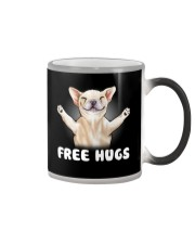 frenchie freehugs2 Color Changing Mug thumbnail