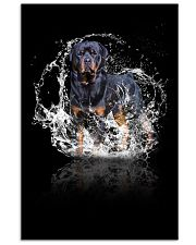 rottweiler poster 11x17 Poster front