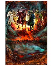 Four Horsemen Of The Apocalypse Gift For Christian 11x17 Poster front