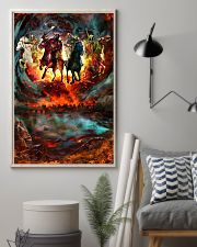 Four Horsemen Of The Apocalypse Gift For Christian 11x17 Poster lifestyle-poster-1