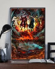 Four Horsemen Of The Apocalypse Gift For Christian 11x17 Poster lifestyle-poster-2