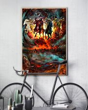 Four Horsemen Of The Apocalypse Gift For Christian 11x17 Poster lifestyle-poster-7
