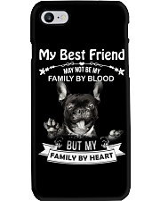 My Best Friend May Not Be My Family By Frenchie Phone Case thumbnail