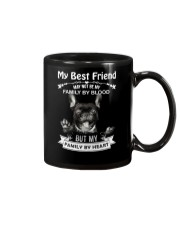 My Best Friend May Not Be My Family By Frenchie Mug thumbnail