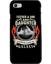 father and son and daughter Phone Case thumbnail