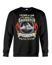 father and son and daughter Crewneck Sweatshirt thumbnail