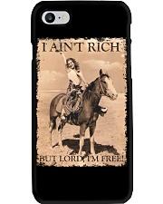 I AINT RICH BUT LORD IM HORSE Phone Case thumbnail
