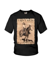 I AINT RICH BUT LORD IM HORSE Youth T-Shirt thumbnail