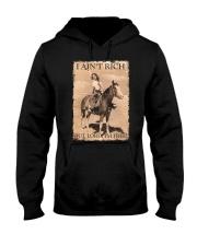 I AINT RICH BUT LORD IM HORSE Hooded Sweatshirt thumbnail