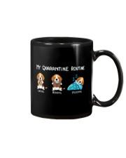 My Quarantine Routine beagle4 Mug thumbnail