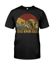 Best Labrador Ritriever Mom Ever  Classic T-Shirt thumbnail