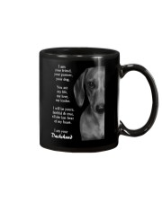 Dachshund i am your friend your partner your dog  Mug thumbnail