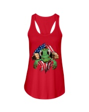 turtle 2 Ladies Flowy Tank thumbnail