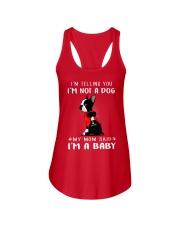 I'm Telling You I'M Not A Dog My Mom Ladies Flowy Tank thumbnail