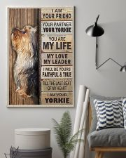 yorkie poster 11x17 Poster lifestyle-poster-1