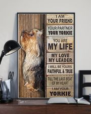 yorkie poster 11x17 Poster lifestyle-poster-2