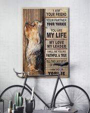 yorkie poster 11x17 Poster lifestyle-poster-7