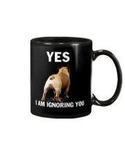 Yes i am ignoring you french bulldog IGNORING Mug tile