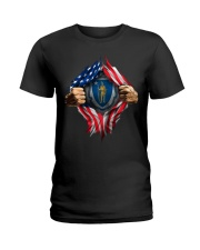 massachusetts Ladies T-Shirt thumbnail